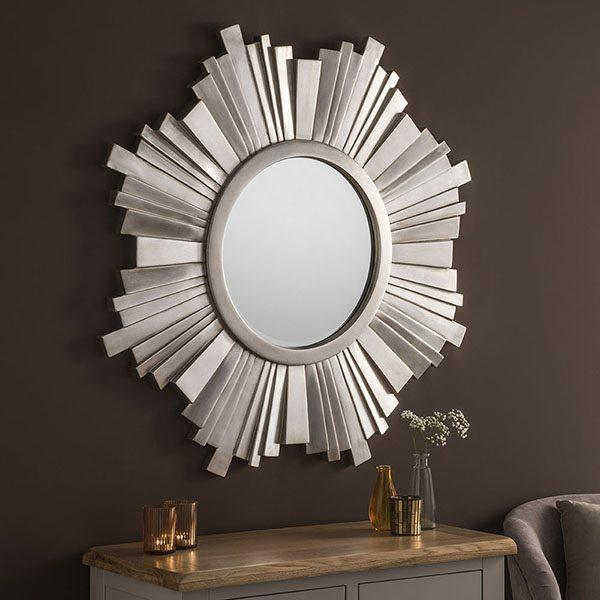 ART170 Sunburst Design Mirror