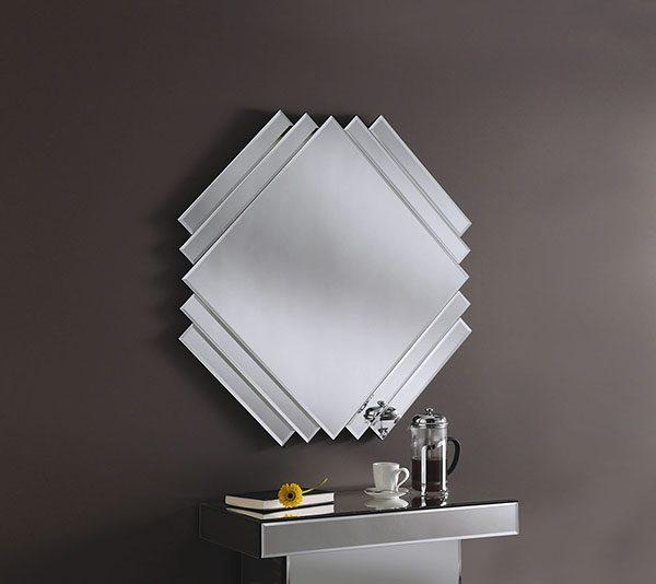 ART200 Square Diagonal Mirror