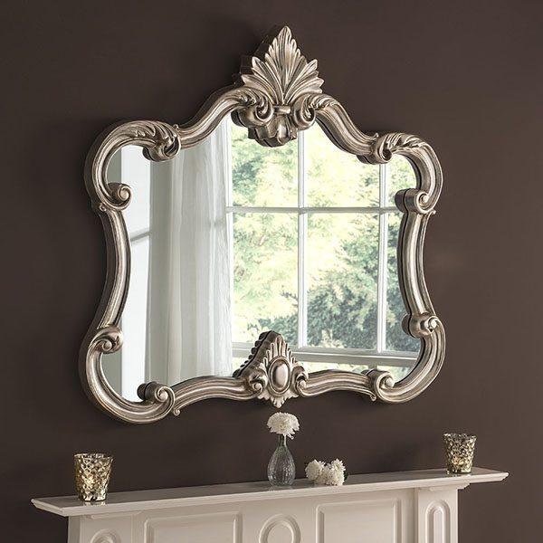 ART32 Ornate Framed Mirror