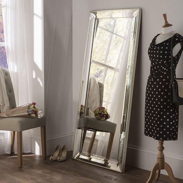 ART595 Angled Frame Leaner Mirror