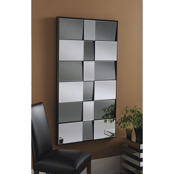 ART730 Smoked and Clear Mirror