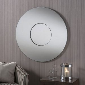 BD441 Contemporary Round Mirror