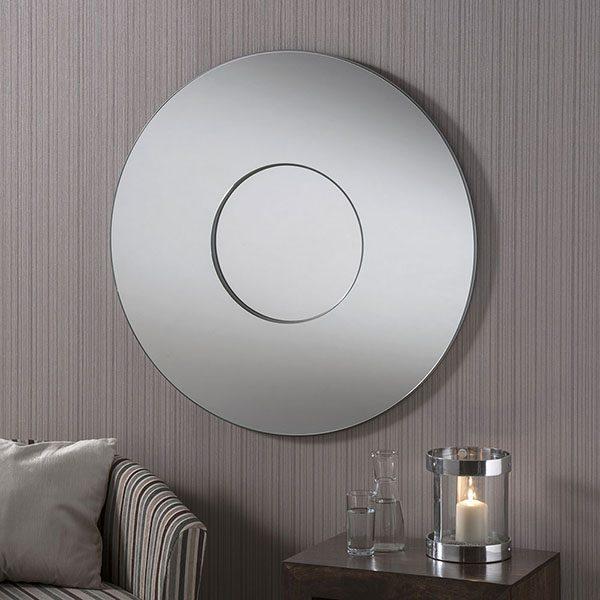 BD441 Contemporary Round Mirror