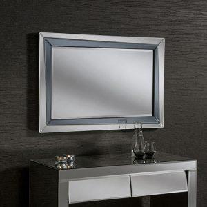 BG04 Modern Smoked Mirror