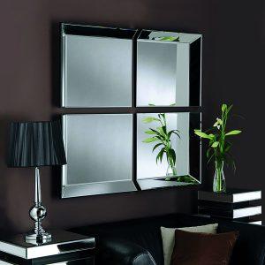 Byblos 4 Panel Mirror