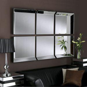 Byblos 6 Panel Mirror