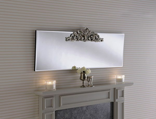 LOMBARDY Mantle Mirror