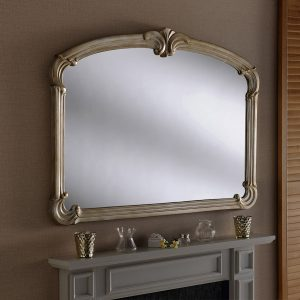 M316 Art Deco Mantle Mirror