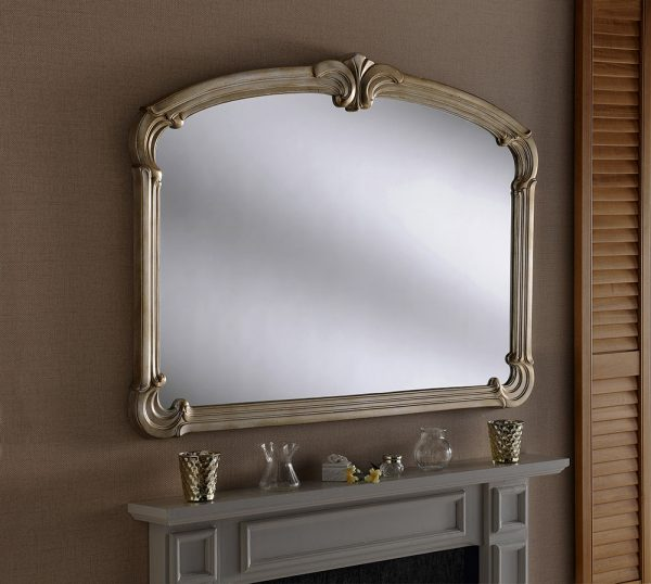 M316 Art Deco Mantle Mirror