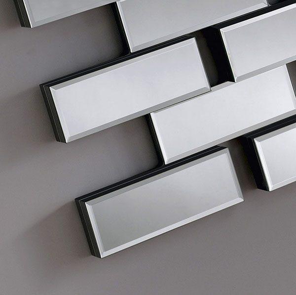 MAZE-L Brick effect Mirror Detail