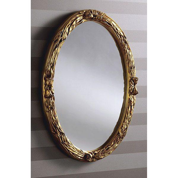 YG230 Oval Mirror Gold