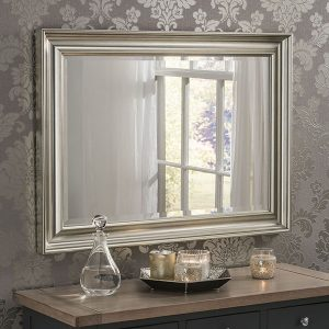 YG601 Deep Scooped Mirror Silver