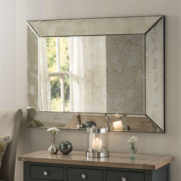 Bordeaux Antique Mirror