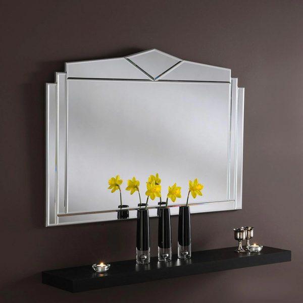 ART266 Overmantel Mirror