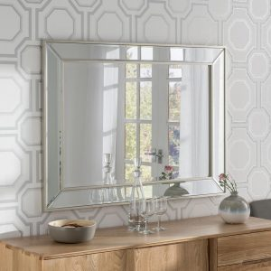 ART520 Contemporary Mirror Silver