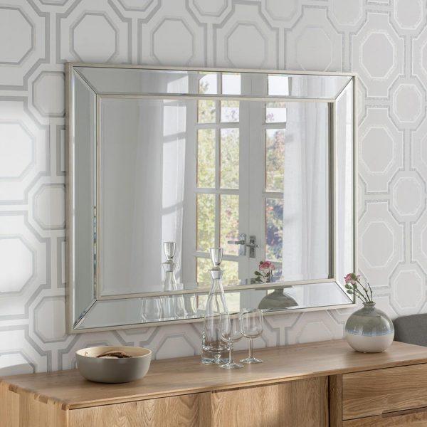 ART520 Contemporary Mirror Silver