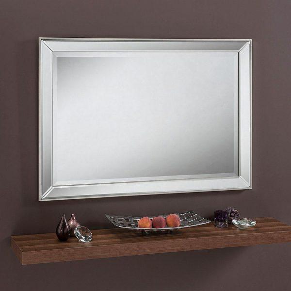 ART585 Contemporary Rectangle Mirror 39X28