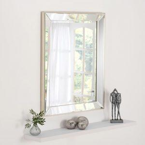 ART590 Contemporary Rectangle Mirror 104X76CM