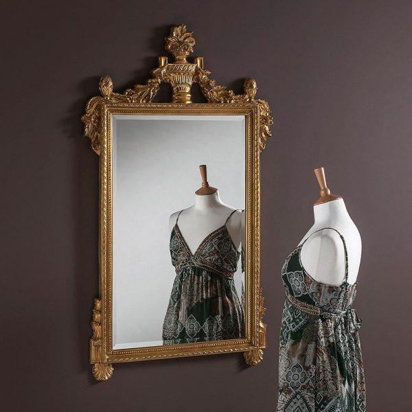 ART600 Ornate Mirror in Gold
