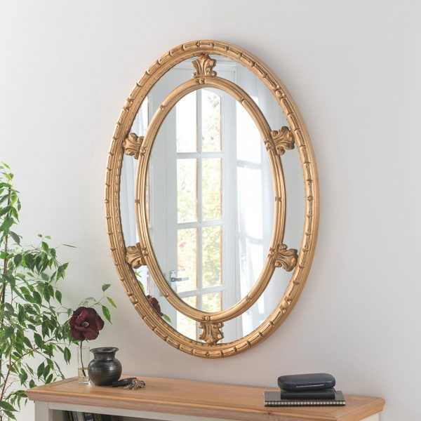ART73 Ornate Gold Mirror