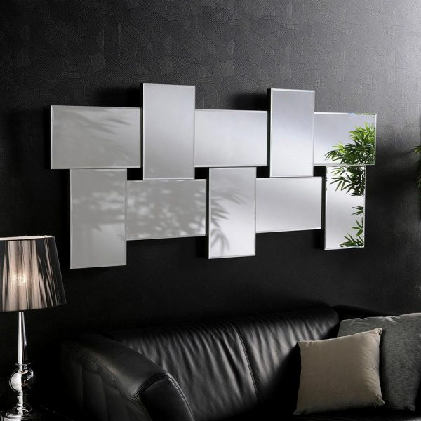 ART790/LARGE Art Deco Mirror