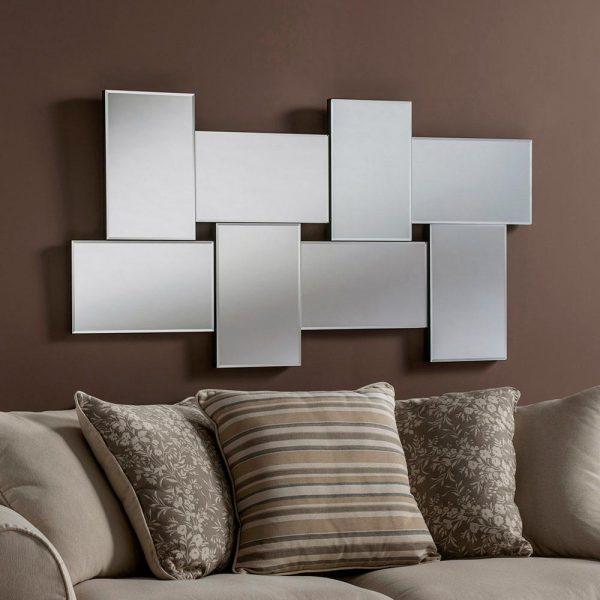 ART790/MEDIUM Art Deco Mirror