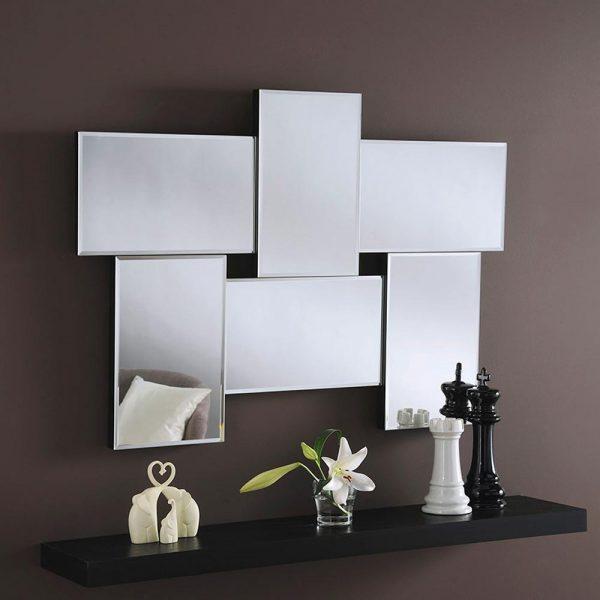 ART790/SMALL Art Deco Mirror