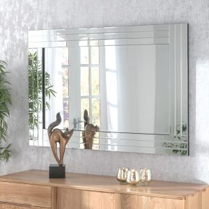 BG07 Butted triple bevel mirror 120x80cm