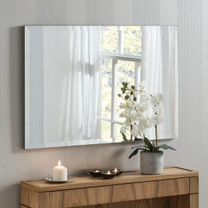 Classic Rectangle Contemporary Mirror