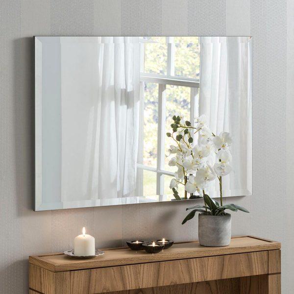 Classic Rectangle Contemporary Mirror