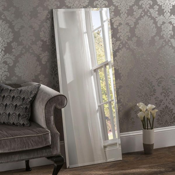 Classic Rectangle Contemporary Leaner Mirror