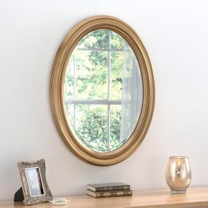 M319 Ornate Mirror in GOLD