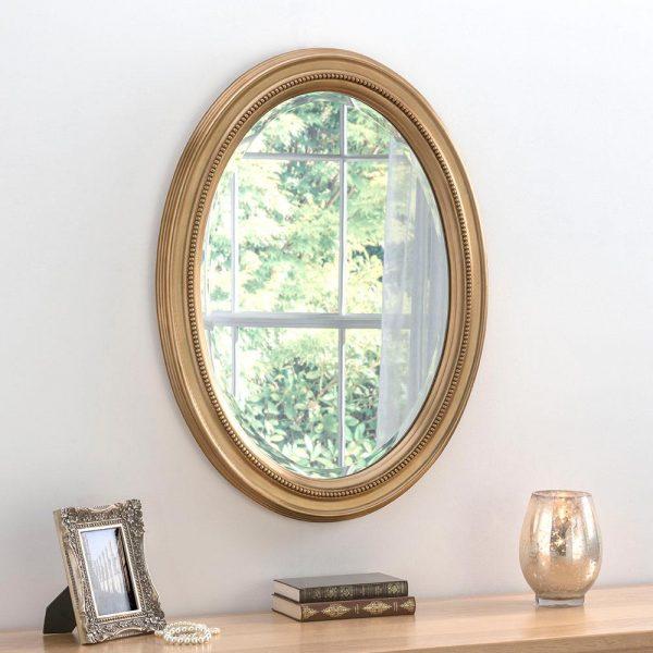 M319 Ornate Mirror in GOLD