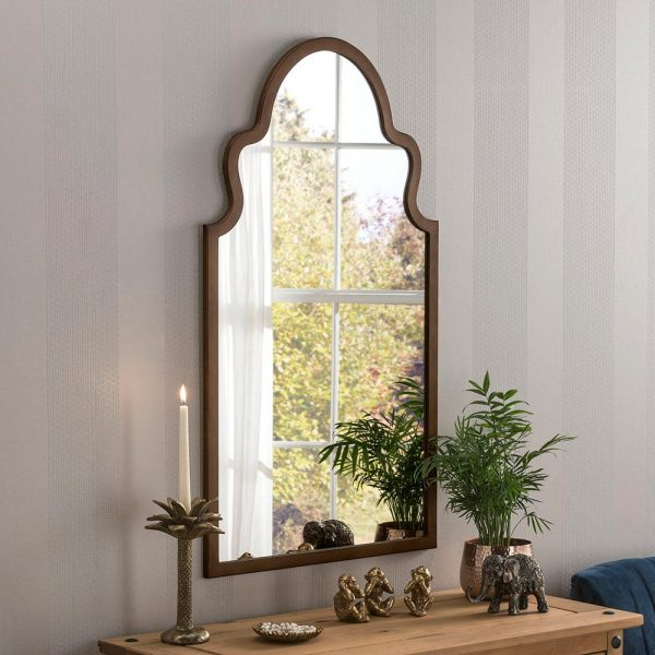 Morocco Contemporary Mirror in Bronze