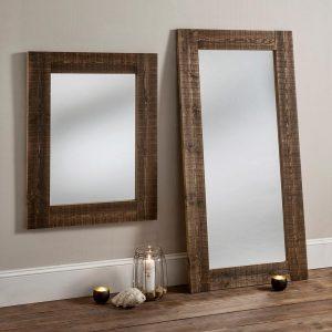RUSTIC RECLAIM rectangular mirror