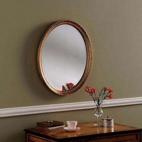 YG0821 Ornate Mirror in Gold