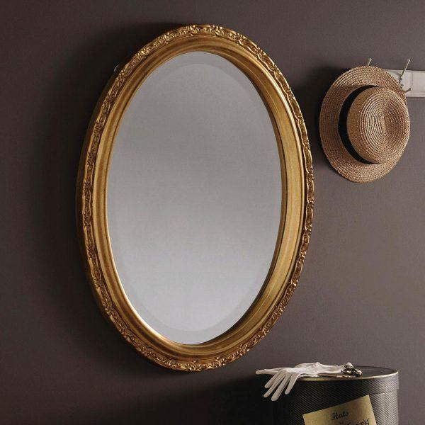 YG0822 Ornate Mirror in Gold