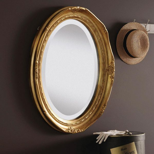 YG0824 Ornate Mirror in Gold