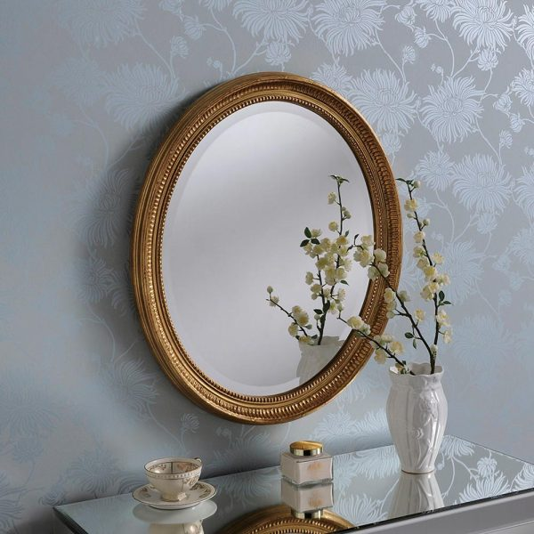 YG0825 Ornate Mirror in Gold