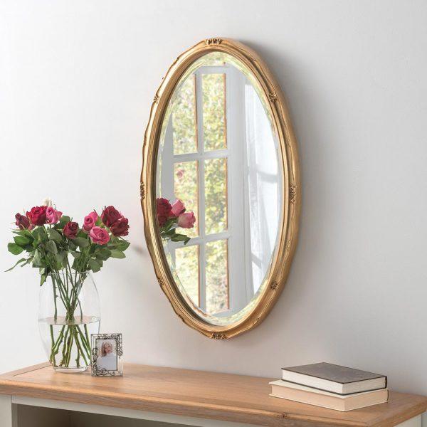 YG0826 Ornate Mirror in Gold