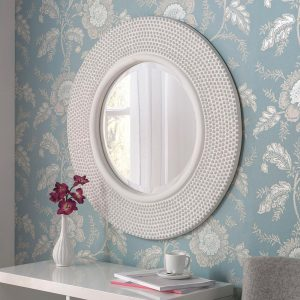 YG126 Contemporary Mirror in WHITE