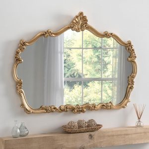 YG205 Ornate Mirror in Gold