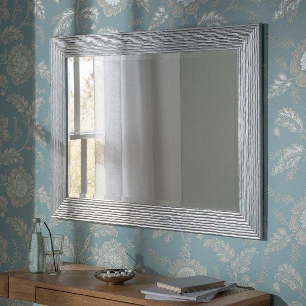 YG223 rectangular mirror in Silver