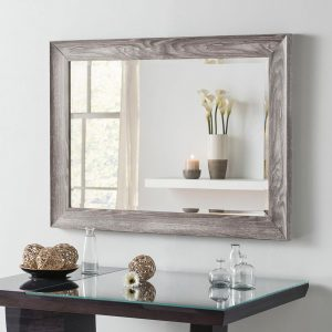 YG224 rectangle mirror in Light Grey