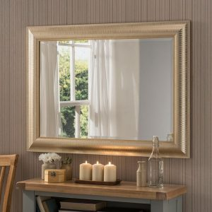 YG226 Rectangle Mirror in Champagne