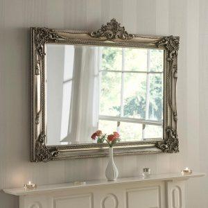 YG616 Baroque Mirror in Silver