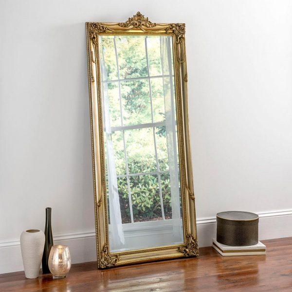 YG617 Baroque Mirror in Gold