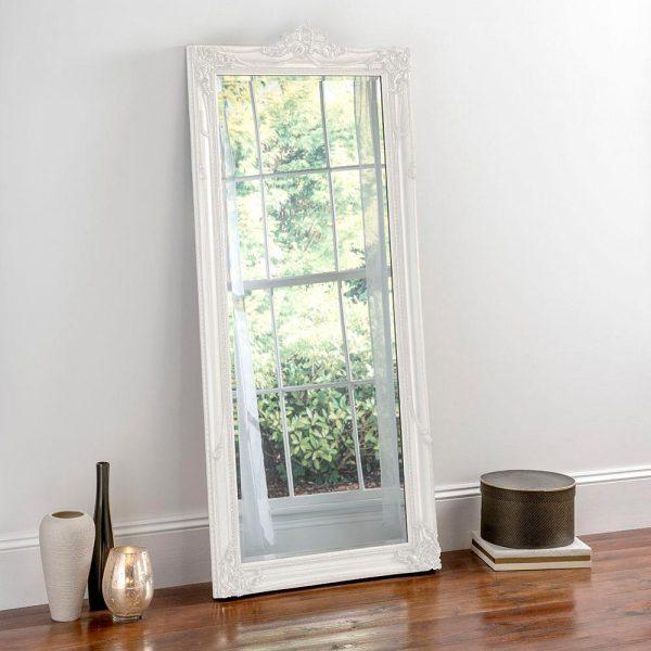 YG617 Baroque Mirror in White