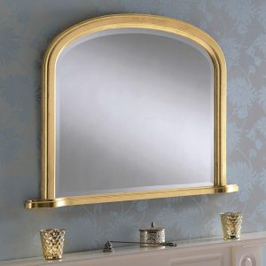 YG95 overmantel mirror in Gold